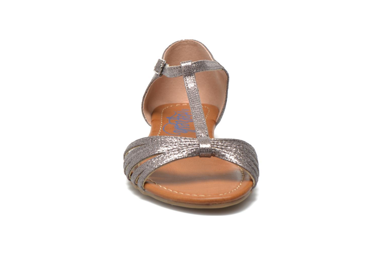 Sandales et nu-pieds Refresh Casey 61767 Argent vue portées chaussures