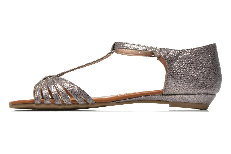 Sandales et nu-pieds Refresh Casey 61767 Argent vue face