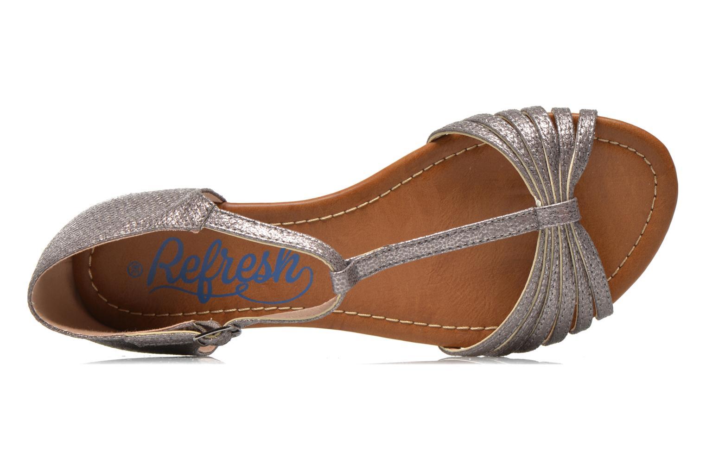 Sandales et nu-pieds Refresh Casey 61767 Argent vue gauche