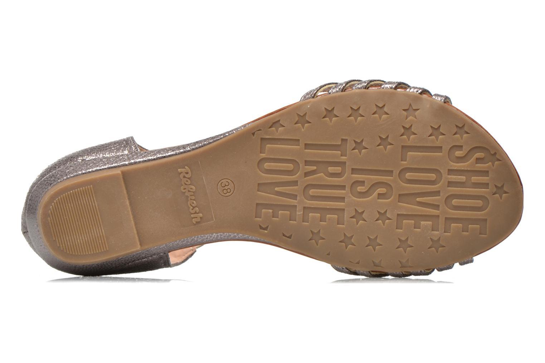 Sandales et nu-pieds Refresh Casey 61767 Argent vue haut