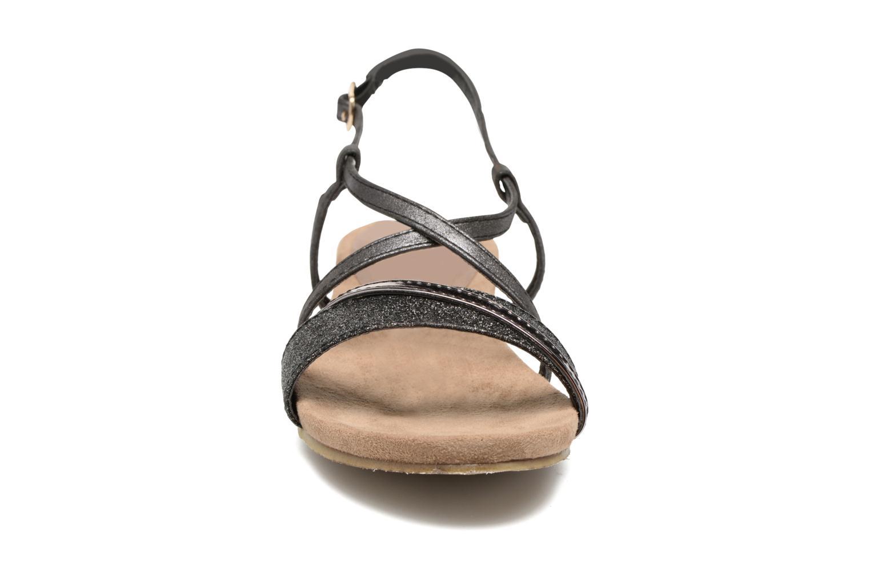 Sandales et nu-pieds Refresh Transat 62015 Noir vue portées chaussures
