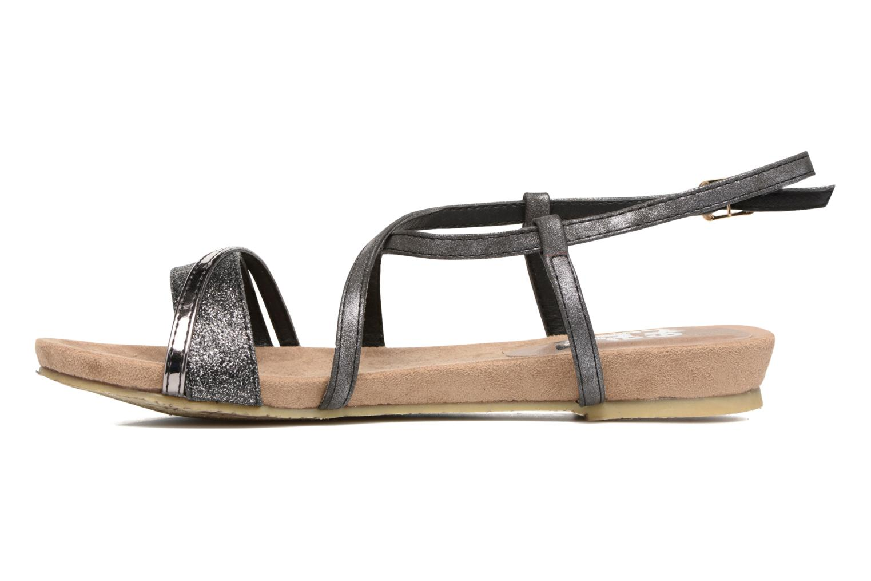 Sandales et nu-pieds Refresh Transat 62015 Noir vue face