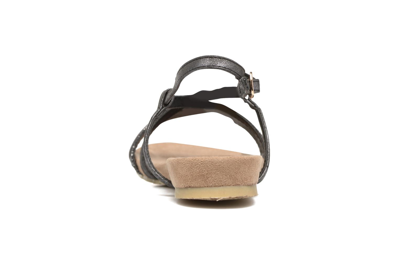 Sandales et nu-pieds Refresh Transat 62015 Noir vue droite