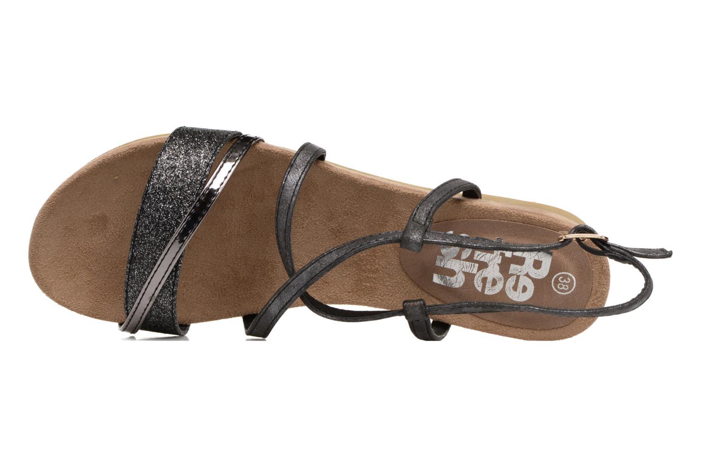 Sandales et nu-pieds Refresh Transat 62015 Noir vue gauche