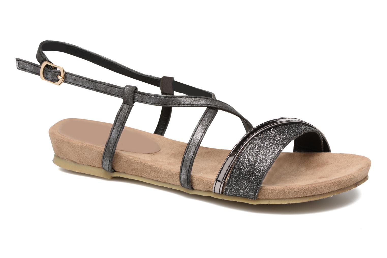 Sandales et nu-pieds Refresh Transat 62015 Noir vue détail/paire