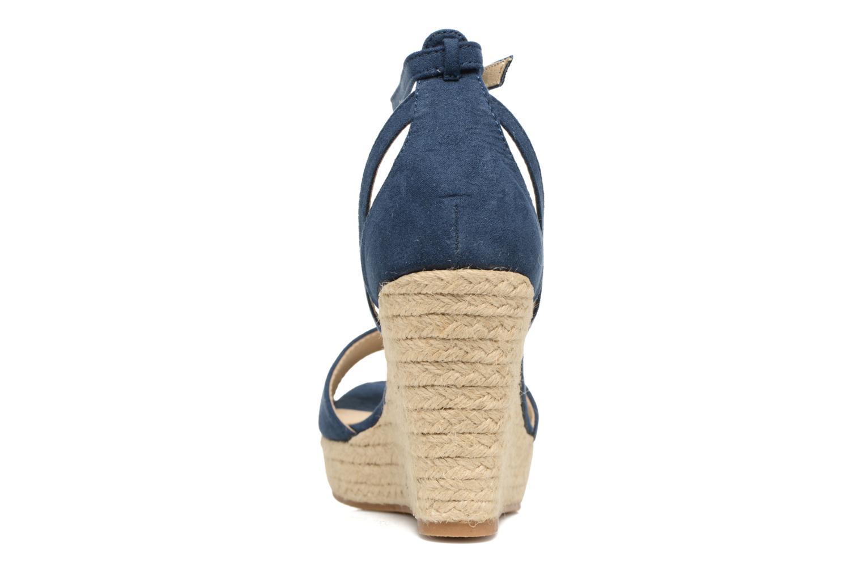 Sandales et nu-pieds Refresh Sunlight 62011 Bleu vue droite