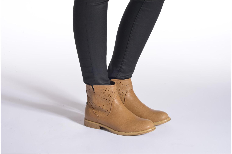 Bottines et boots Refresh Western 61702 Marron vue bas / vue portée sac