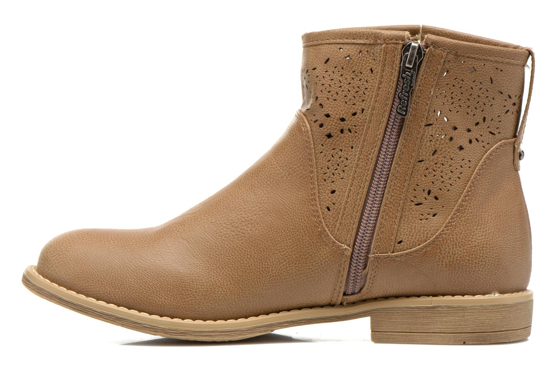 Bottines et boots Refresh Western 61702 Marron vue face