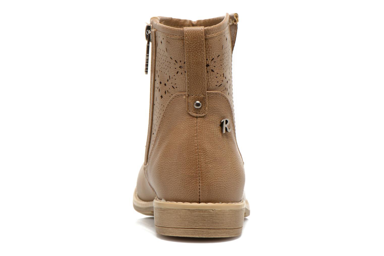 Bottines et boots Refresh Western 61702 Marron vue droite