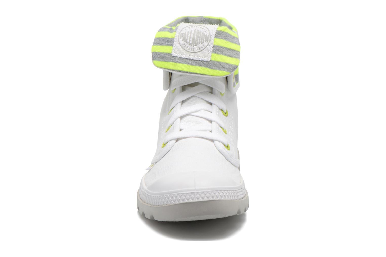Baskets Palladium Baggy lite CVS Blanc vue portées chaussures