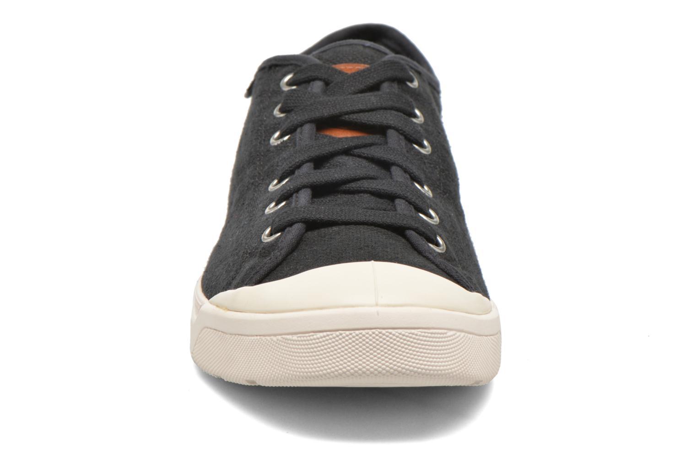 Baskets Palladium Pallarue LC Noir vue portées chaussures