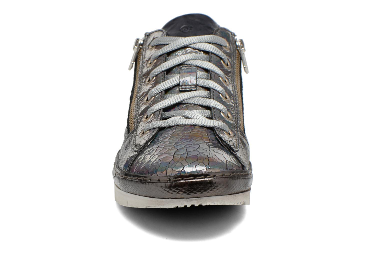 Baskets Khrio Cahida Argent vue portées chaussures