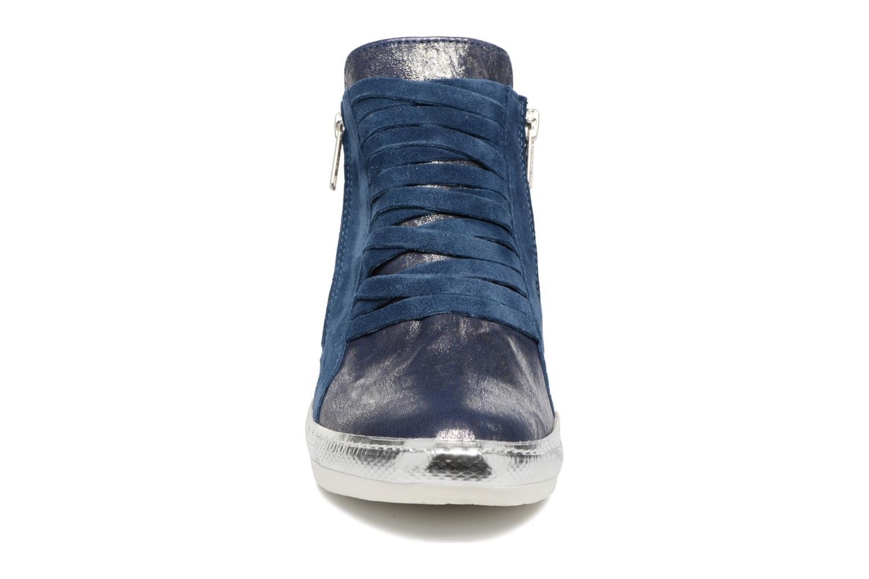 Baskets Khrio Fucio Bleu vue portées chaussures