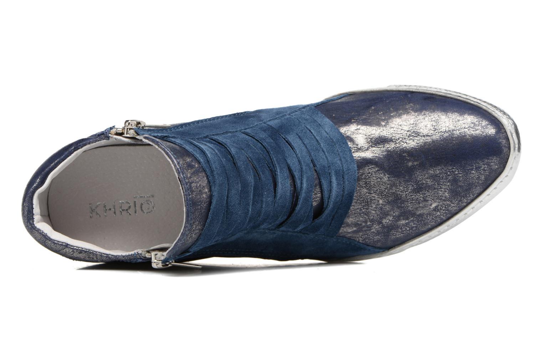 Sneakers Khrio Fucio Blauw links