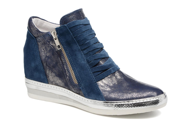 Sneakers Khrio Fucio Blauw detail