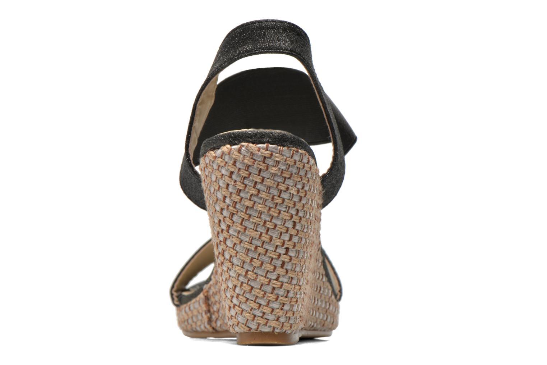 Sandales et nu-pieds Eclipse Espadrille Topaz Noir vue droite