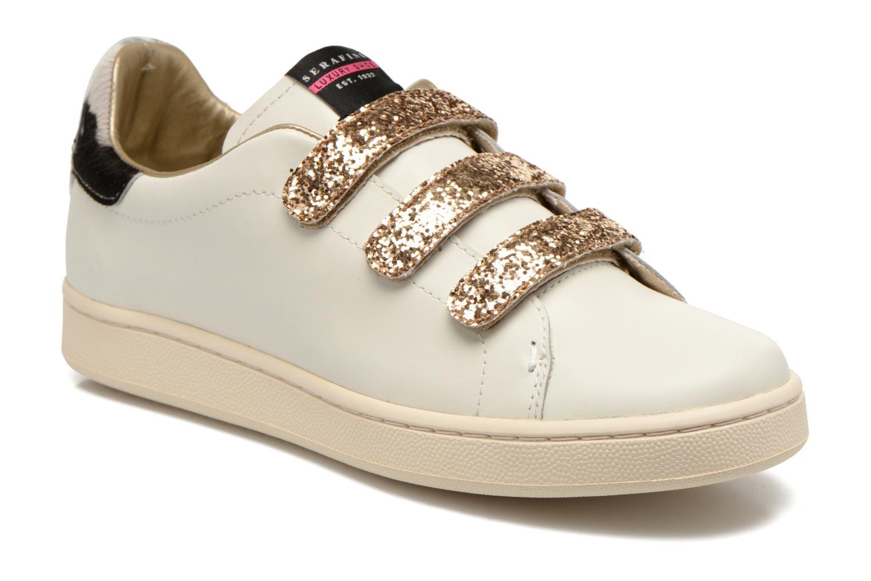 J.Connors Velcro Gold White