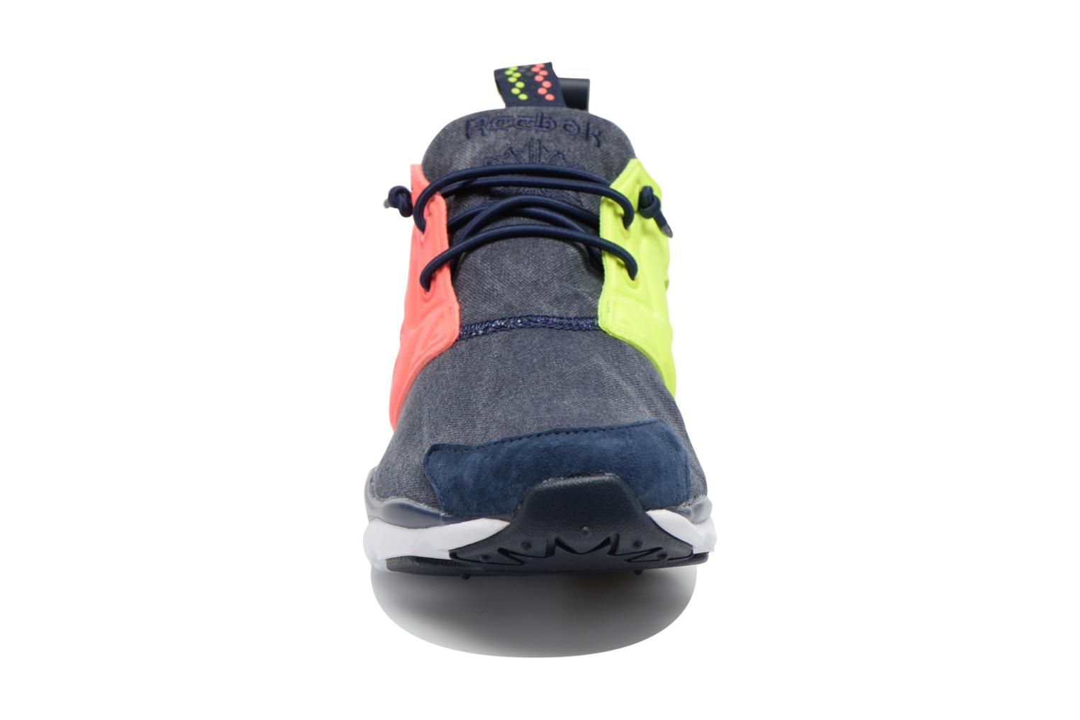 Furylite Asymmetrical Collegiate Navy/Solar Yellow/Punch Pink/