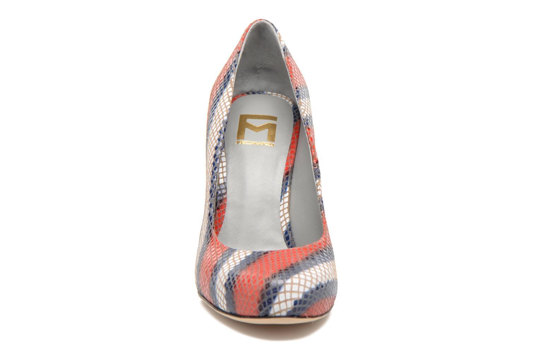 Escarpins Fred Marzo Emilia Multicolore vue portées chaussures