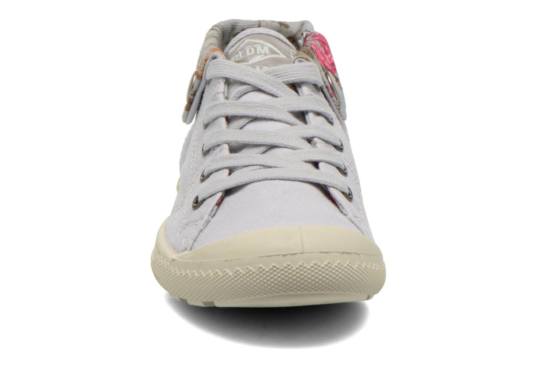 Baskets P-L-D-M By Palladium Letty Twl Gris vue portées chaussures