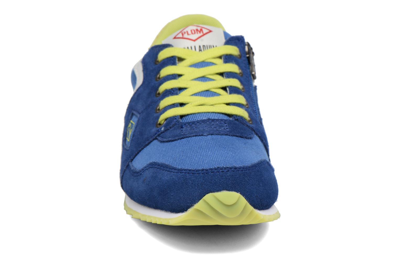 Sneakers P-L-D-M By Palladium Fabeo Nyl Azzurro modello indossato