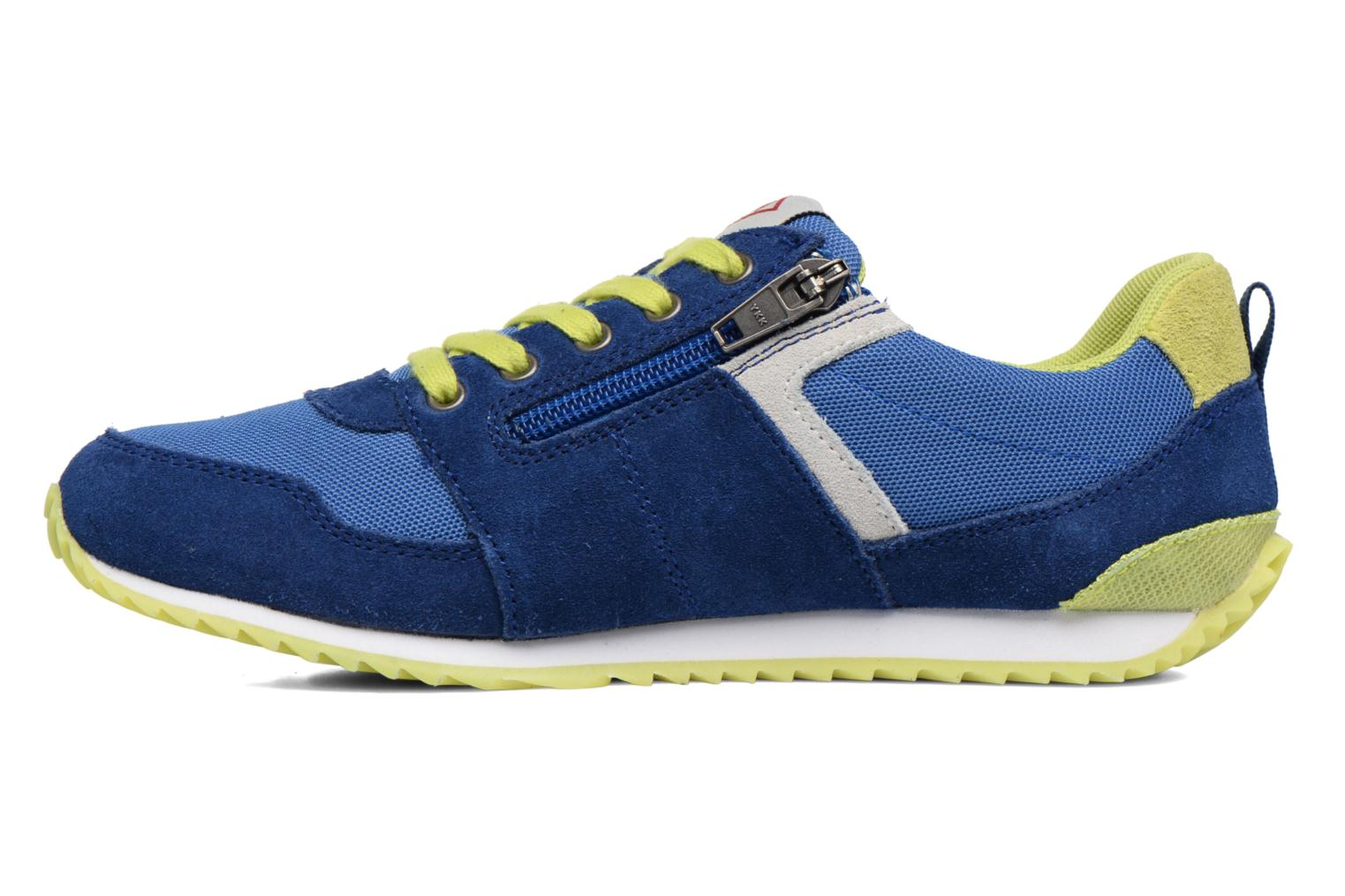 Sneakers P-L-D-M By Palladium Fabeo Nyl Azzurro immagine frontale