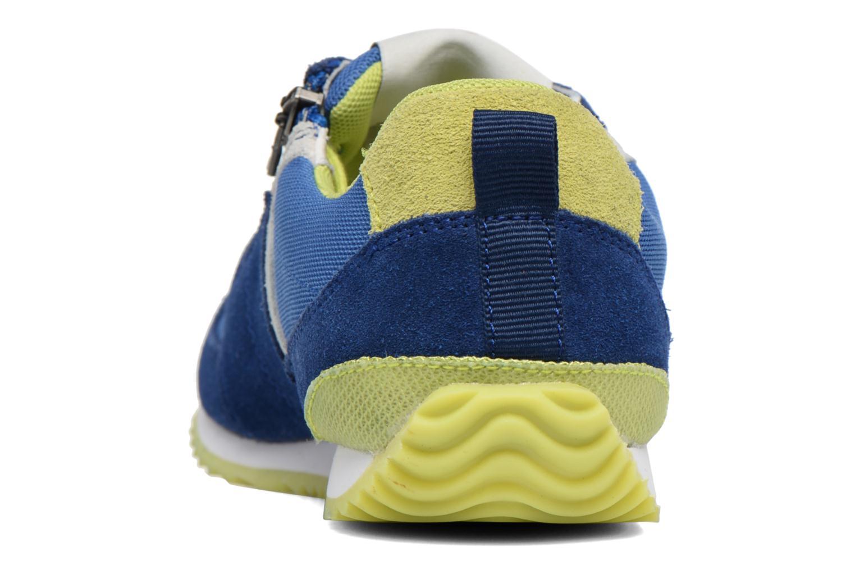 Sneakers P-L-D-M By Palladium Fabeo Nyl Azzurro immagine destra