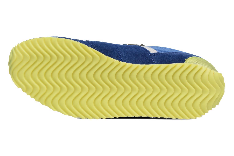 Baskets P-L-D-M By Palladium Fabeo Nyl Bleu vue haut