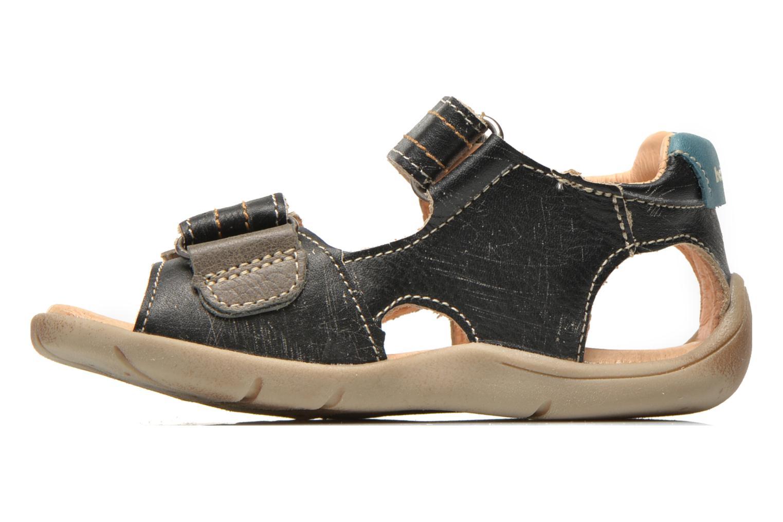 Sandales et nu-pieds Babybotte Takotac Noir vue face