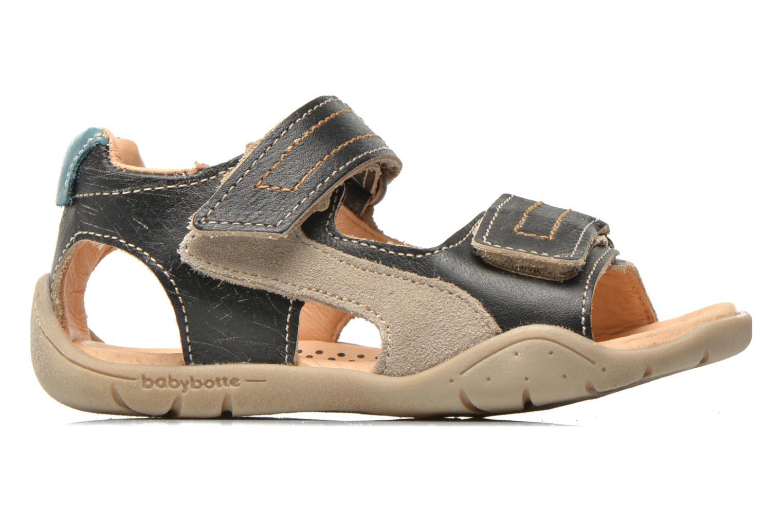 Sandali e scarpe aperte Babybotte Takotac Nero immagine posteriore