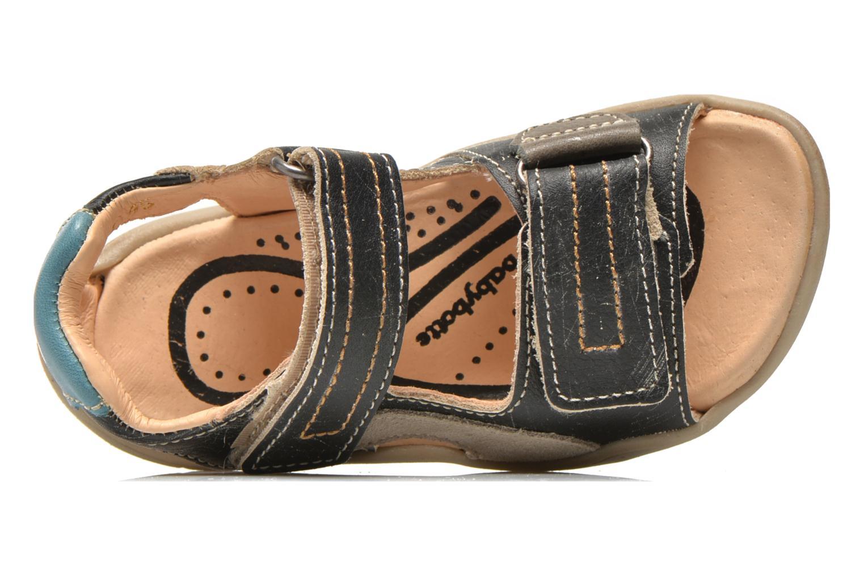 Sandales et nu-pieds Babybotte Takotac Noir vue gauche