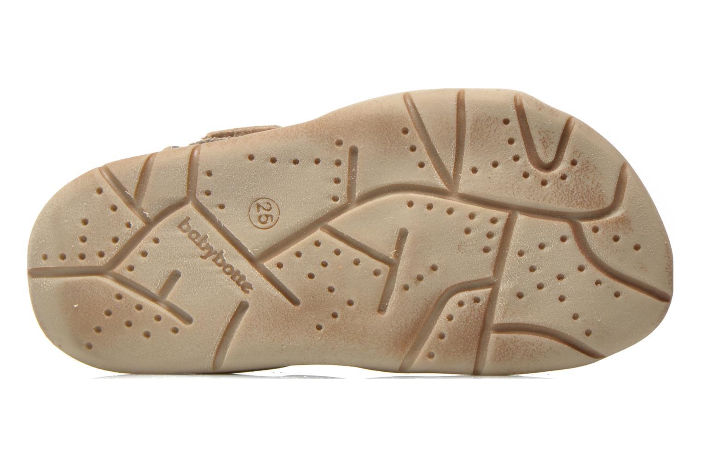 Sandales et nu-pieds Babybotte Takotac Noir vue haut