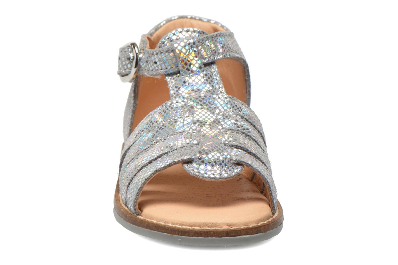 Sandales et nu-pieds Babybotte Teoxane1 Argent vue portées chaussures