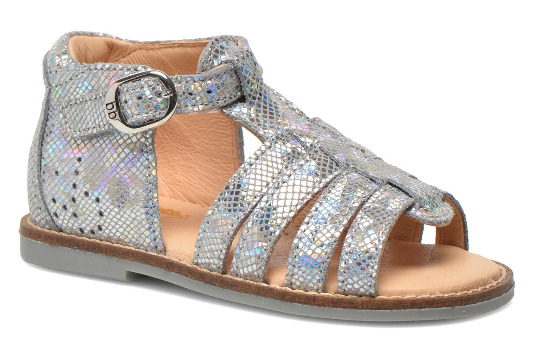 Sandales et nu-pieds Babybotte Teoxane1 Argent vue détail/paire