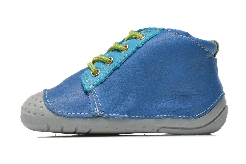 Bottines et boots Babybotte Zakari Bleu vue face