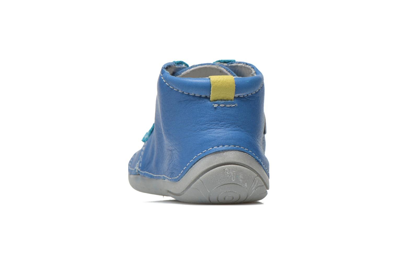 Bottines et boots Babybotte Zakari Bleu vue droite