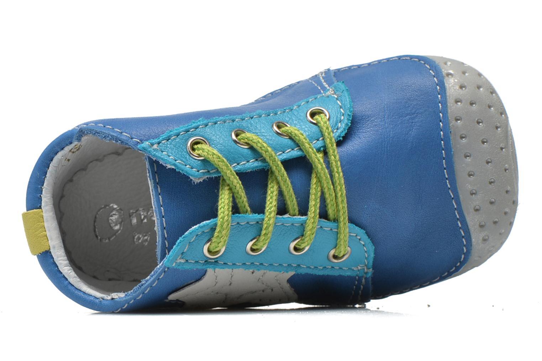 Bottines et boots Babybotte Zakari Bleu vue gauche