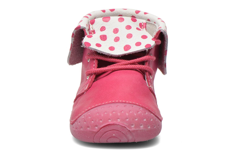 Bottines et boots Babybotte Zeus Rose vue portées chaussures