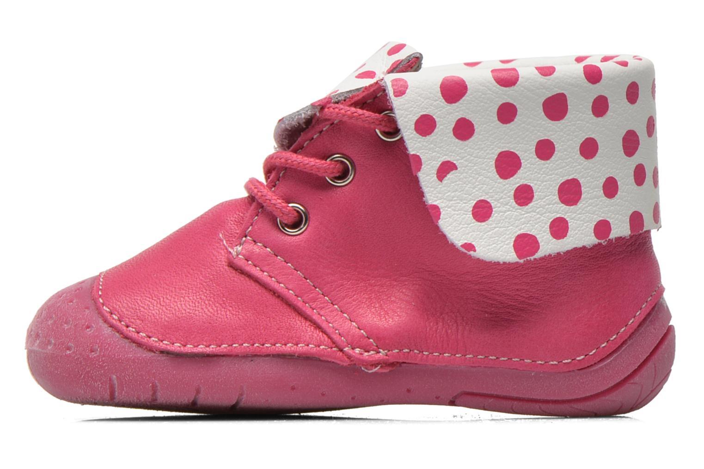 Bottines et boots Babybotte Zeus Rose vue face