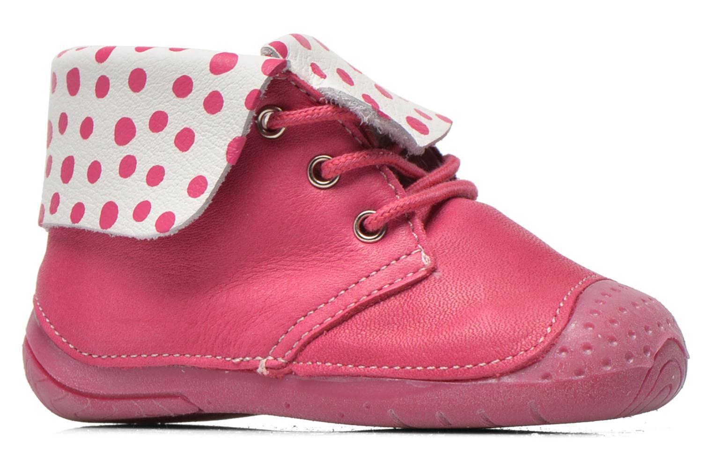 Bottines et boots Babybotte Zeus Rose vue derrière