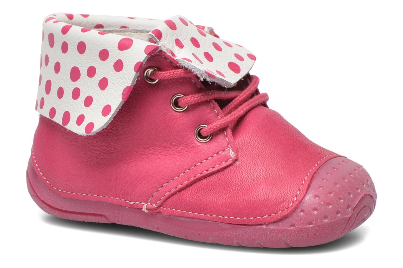 Bottines et boots Babybotte Zeus Rose vue détail/paire
