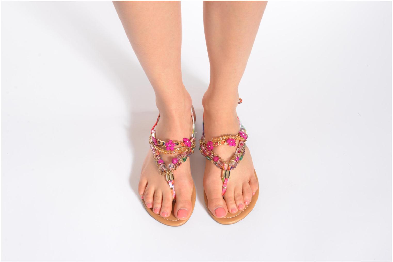 Sandales et nu-pieds Buffalo Ellyw Multicolore vue bas / vue portée sac