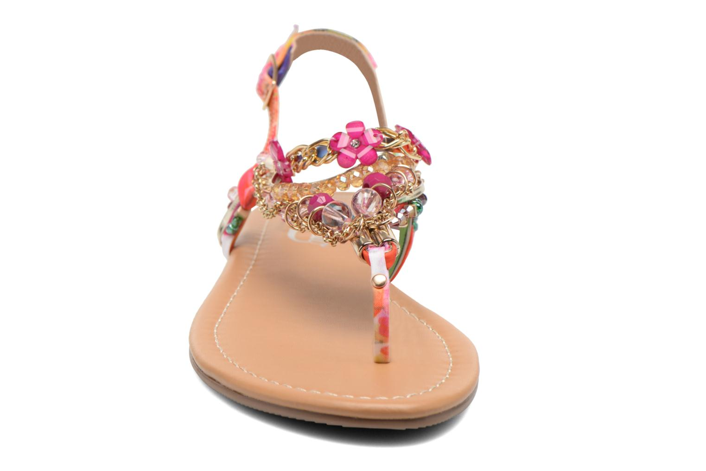 Sandales et nu-pieds Buffalo Ellyw Multicolore vue portées chaussures