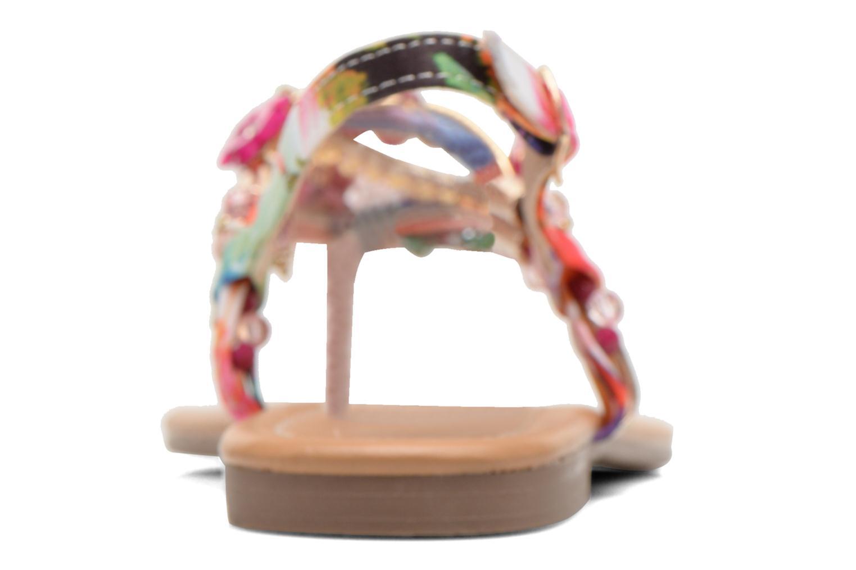 Sandales et nu-pieds Buffalo Ellyw Multicolore vue droite