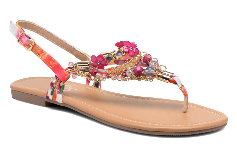 Sandales et nu-pieds Buffalo Ellyw Multicolore vue détail/paire