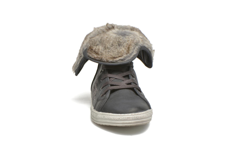 Baskets Dockers Makira Gris vue portées chaussures