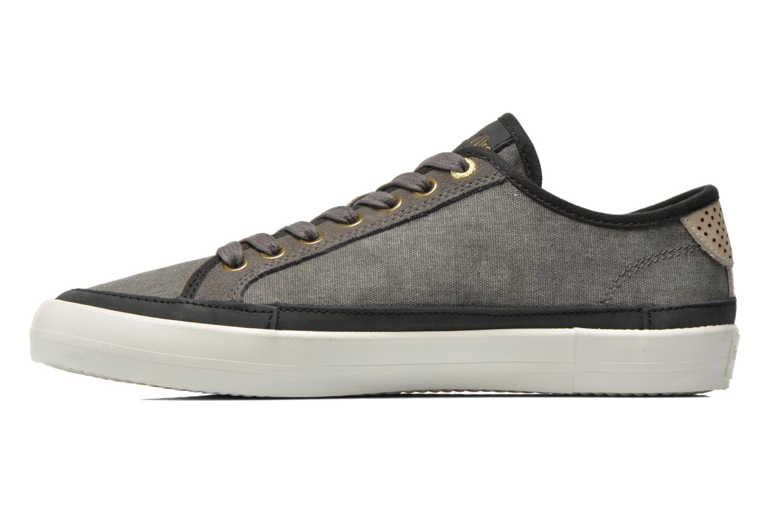 Baskets Pantofola d'Oro Veneto Canvas Low Gris vue face