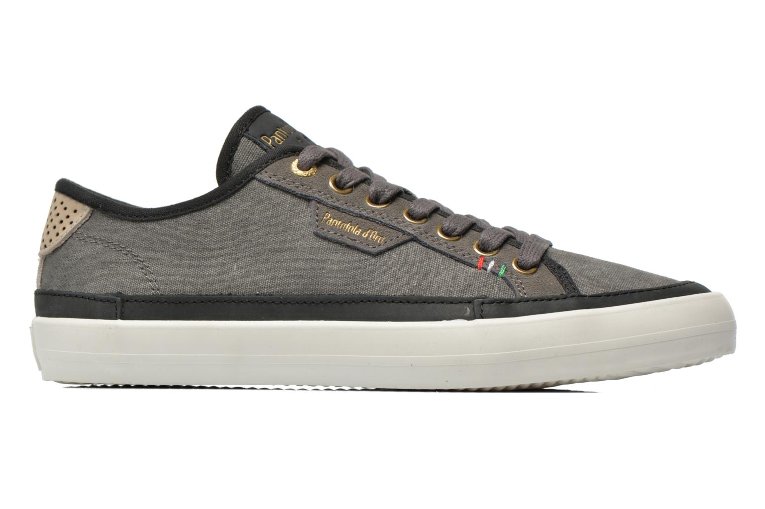 Baskets Pantofola d'Oro Veneto Canvas Low Gris vue derrière
