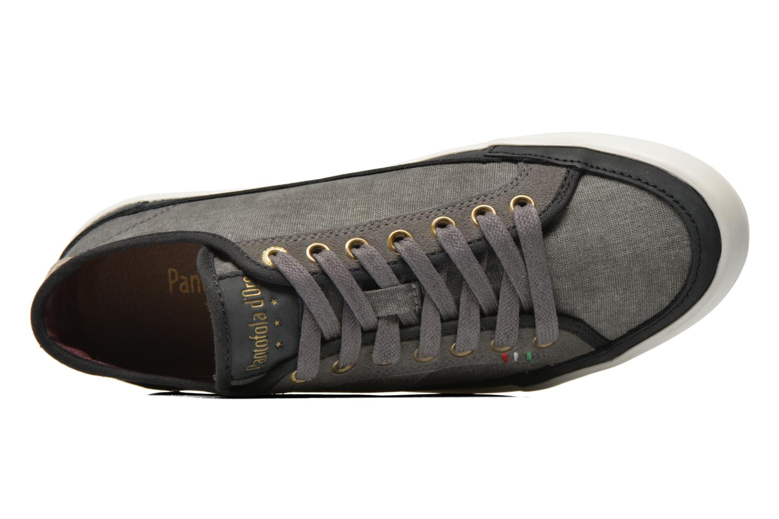 Baskets Pantofola d'Oro Veneto Canvas Low Gris vue gauche