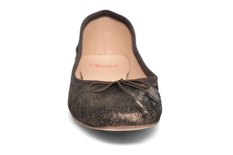 Ballerines Opéra national de Paris Eden Or et bronze vue portées chaussures